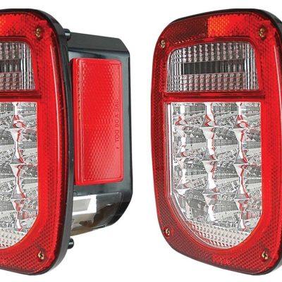 Calaveras LED Para Jeep Wrangler