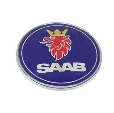 Emblema De Cofre Original Para Saab 9-3 900 9000 1999 - 2003
